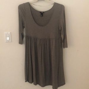 H & M babydoll dress size L.